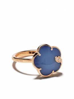 "Pasquale Bruni ""золотое кольцо Petit Jolie с бриллиантами, агатами и лазуритом"" 16117R"