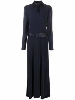 Jean Paul Gaultier Pre-Owned платье макси с поясом C3015051