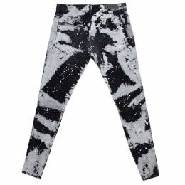Fear Of God X Maxfield Black Tie Dye Denim Skinny Jeans M 291922