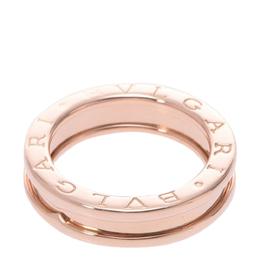 Bvlgari B.zero1 One Band 18K Rose Gold Ring Size 46 292344