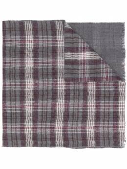 Loro Piana клетчатый шарф FAI7996
