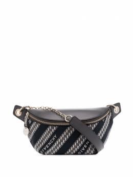 Givenchy поясная сумка Bond с цепочкой BBU00WB0U0