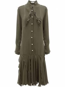 J.W. Anderson многослойное платье миди DR0068PG0003575
