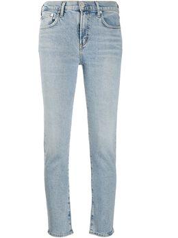 Agolde укороченные джинсы Toni A133B3002F