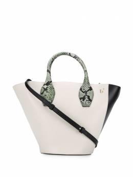 L'Autre Chose сумка-ведро в стиле колор-блок LBL0040182933G582