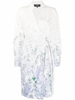 Paule Ka платье с запахом и цветочным принтом 227R232