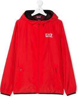 Emporio Armani Kids куртка на молнии с капюшоном 3HBB01BN28Z