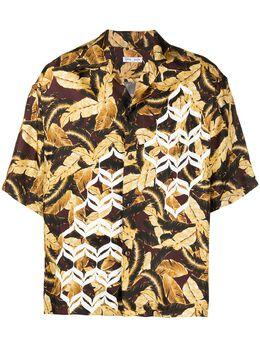 Cmmn Swdn рубашка Kim с геометричным принтом KIMGEOMETRICM16W670