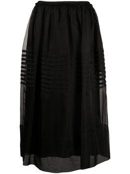 Simone Rocha многослойная юбка со складками 33580360