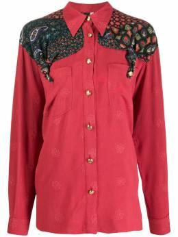 Moschino Pre-Owned рубашка с узором пейсли MS250NO