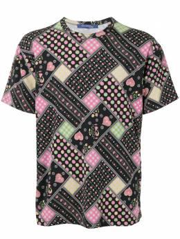 Junya Watanabe Comme Des Garcons Pre-Owned футболка с принтом WOT013