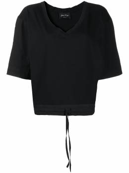 Andrea Ya'aqov футболка с кулиской и короткими рукавами 20WGIW16
