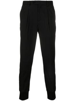 Neil Barrett брюки Travel 2 кроя слим PBPA764N024