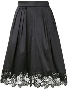 Paule Ka юбка с кружевом 213J62