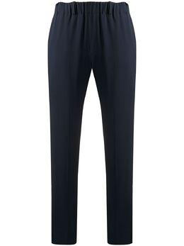 Incotex креповые брюки кроя слим 171775D8029