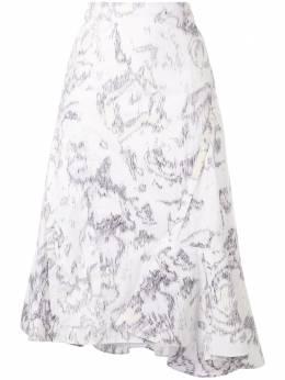 3.1 Phillip Lim юбка с оборками на подоле E2033113ABP