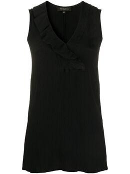 Antonelli блузка без рукавов с жатым эффектом COCOMEROC5384
