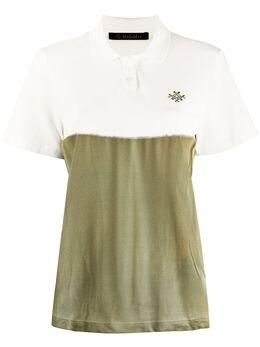 Mr & Mrs Italy рубашка поло в стиле колор блок с логотипом XTS0157