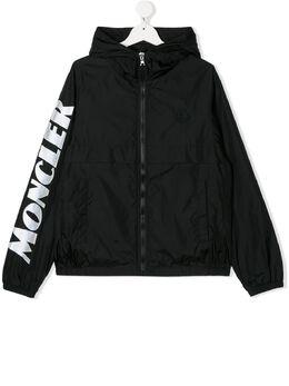 Moncler Kids легкая куртка с логотипом 1A7232068352