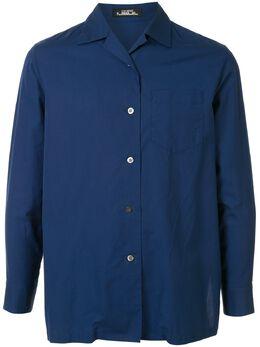 Issey Miyake Pre-Owned рубашка с штормовой заслонкой PE81FJ093