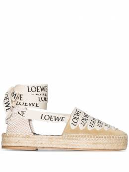 Loewe эспадрильи с логотипом 45310357