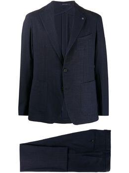 Tagliatore костюм-двойка с однобортным пиджаком 2SMC22K0101UEZ086