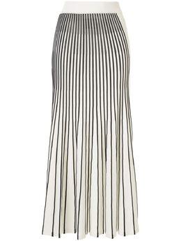 Alexis плиссированная юбка Vani в полоску A12009226234