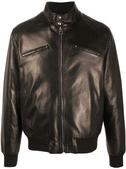 Salvatore Ferragamo куртка на молнии 716656
