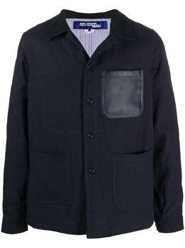 Junya Watanabe Man куртка-рубашка с накладными карманами WEJ401S20