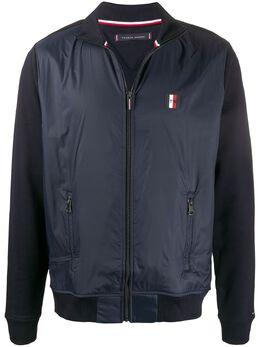 Tommy Hilfiger куртка с воротником-воронкой и логотипом MW0MW13054