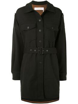 See By Chloe куртка-рубашка с поясом CHS20SMA08004