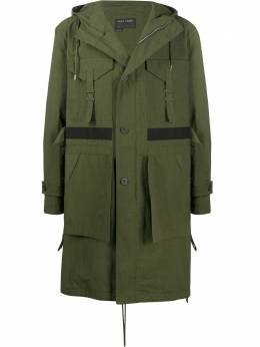 Craig Green пальто с капюшоном и карманами карго CGSS20CWOPARO1