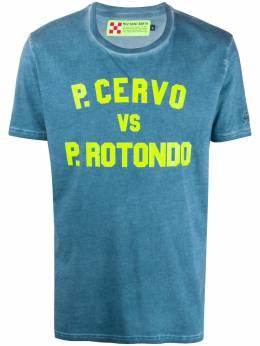 Mc2 Saint Barth футболка с принтом P.Cervo WYN0001CVRT17