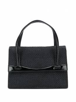 Gucci Pre-Owned плетеная сумка-тоут 1950-х годов GCCI350