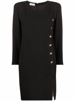 Valentino Pre-Owned платье мини с разрезом 130545