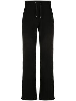 Versace Collection спортивные брюки с заклепками сбоку V800622VJ00170