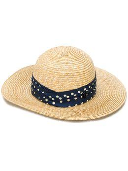 Maison Michel соломенная шляпа 1016015001