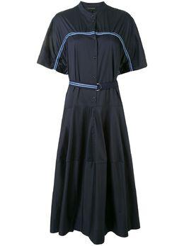 Lee Mathews платье Alice в полоску M2001DR146
