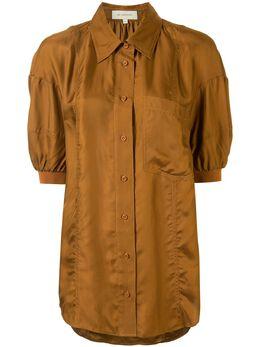 Lee Mathews рубашка Rommie с пышными рукавами M2001TO067