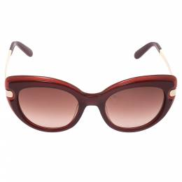 Salvatore Ferragamo Burgundy SF813S Sunglasses 293731