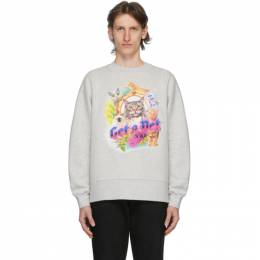 Han Kjobenhavn Grey Get A Pet Sweatshirt M-130183