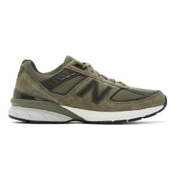 New Balance Green Made In US 990 v5 Sneakers M990AE5