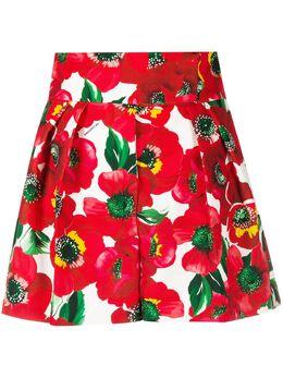 Sara Battaglia шорты с цветочным принтом SB3201321S0