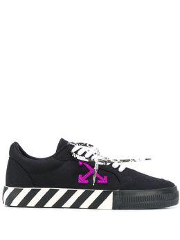 Off-White кроссовки на шнуровке с логотипом OMIA085E20FAB0011037