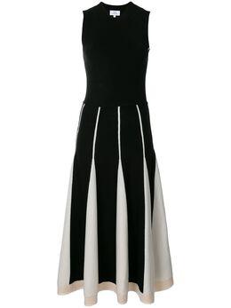 Ck Calvin Klein трикотажное платье с контрастными вставками 122TW84037BLC