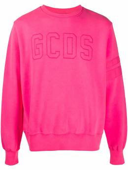 GCDS джемпер с вышитым логотипом CC94M021008