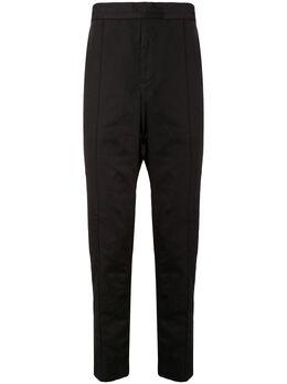Ck Calvin Klein брюки с эластичным поясом и складками T260M22246BLK