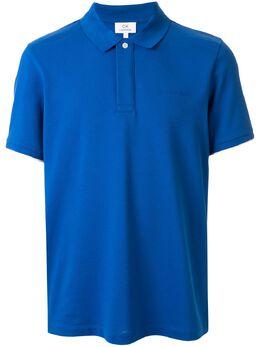 Ck Calvin Klein многослойная рубашка-поло с логотипом 019CM77363BWW