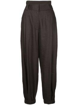 Tibi брюки Wesson с двойным поясом S120WL3206