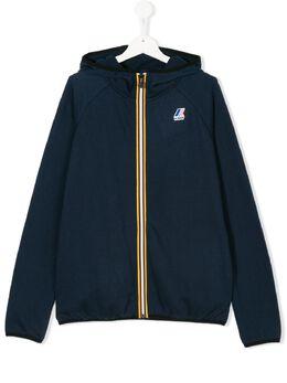 K Way Kids куртка с капюшоном на молнии K0066Q0